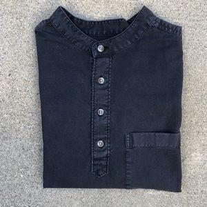 Short-sleeved Urban Outfitters Henley shirt